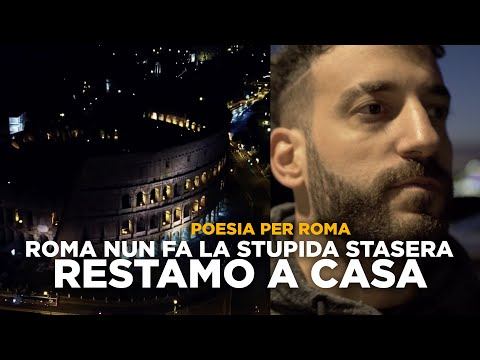 Roma nun fa la stupida stasera, RESTAMO A CASA
