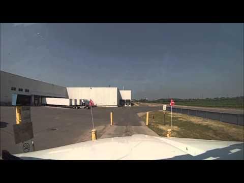 Hammer Down With Len Dubois Trucking - Trp 6 - Winnipeg Trucking Company Trip Video