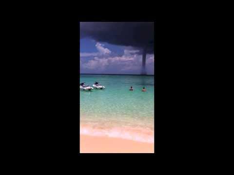 Water Spout in Cayman Island (July 2011)