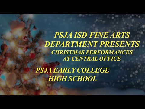 PSJA Early College High School Christmas Concert Performance