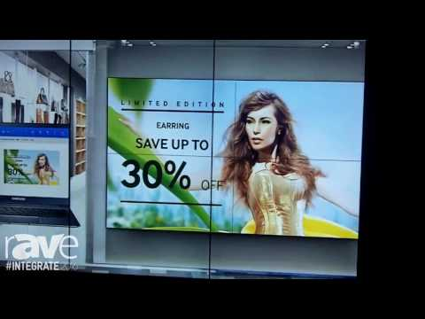Integrate 2016: Samsung Showcases 55-Inch Display for Video Walls