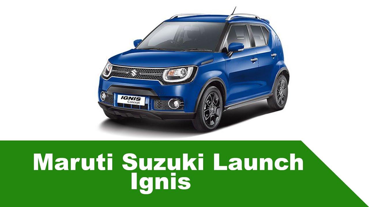 maruti new car releaseMaruti Suzuki New car Ignis Launch india Auto expo 2016  Mini suv