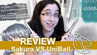 Sakura Gelly Roll VS Uni-Ball (White Gel Pen Comparison)