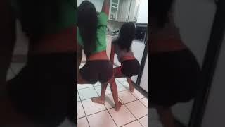 Two black girls twerking????????????