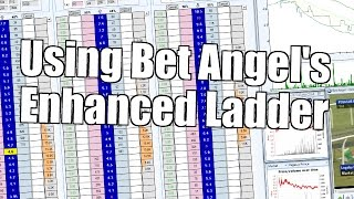 Betfair trading - Using Bet Angel's enhanced ladder