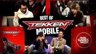 BEST OF : Gros tournoi entre Streamer sur Tekken Mobile pendant la PGW
