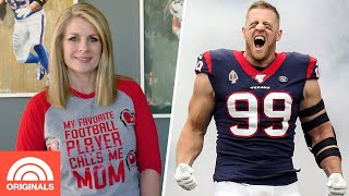 JJ Watt's Mom, Connie Watt, Shares Her Secret To Parenthood | TODAY Original