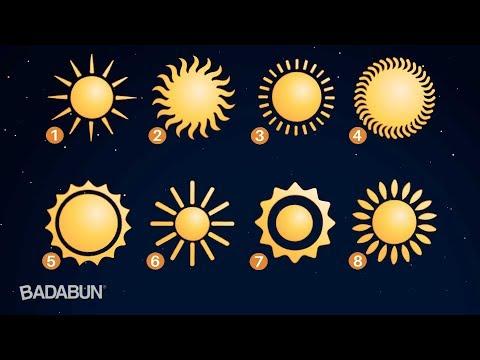 El sol que escojas revela secretos de tu personalidad