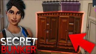 SECRET BUNKER FOUND! (Fortnite Battle Royale)