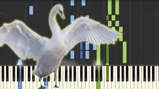 Schwanengesang - Ständchen (Serenade) - Franz Schubert [Piano Tutorial] (Synthesia)