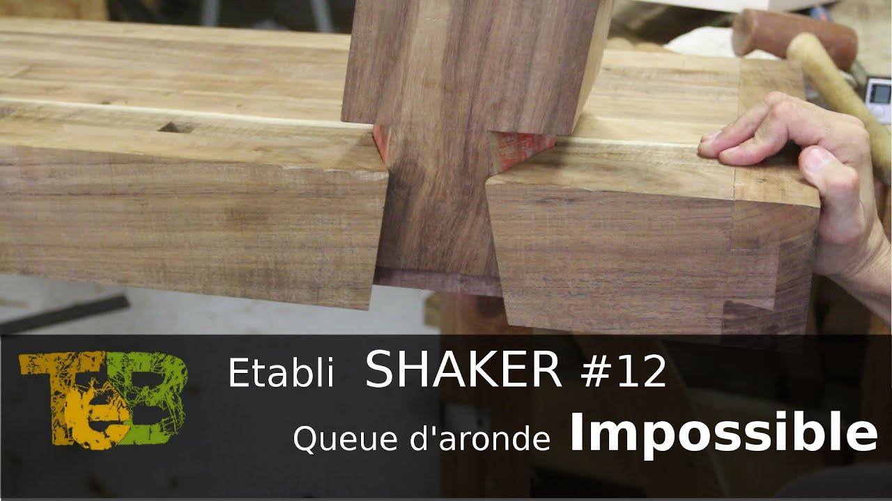 travail du bois la main assemblage double queue d 39 aronde rising dovetails 12 youtube. Black Bedroom Furniture Sets. Home Design Ideas