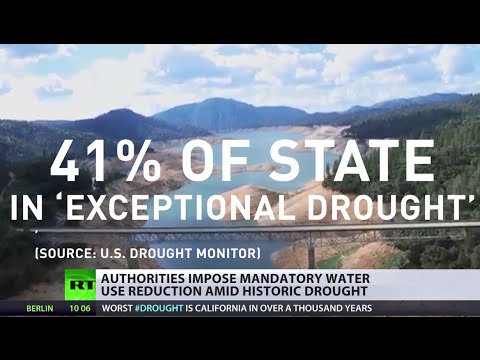 '1 year reserves left' California cuts water ration over drought, fracking waste