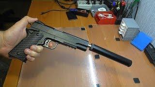 ТЫЖ РЕМОНТЕР! Сломался пистолет Colt K35D (c10a+) / Провернули глушитель