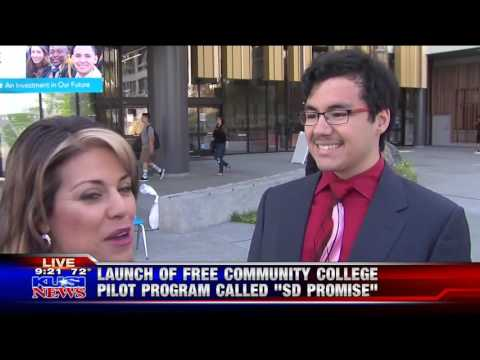 KUSI-SD: SDCCD Introduces San Diego Promise Students
