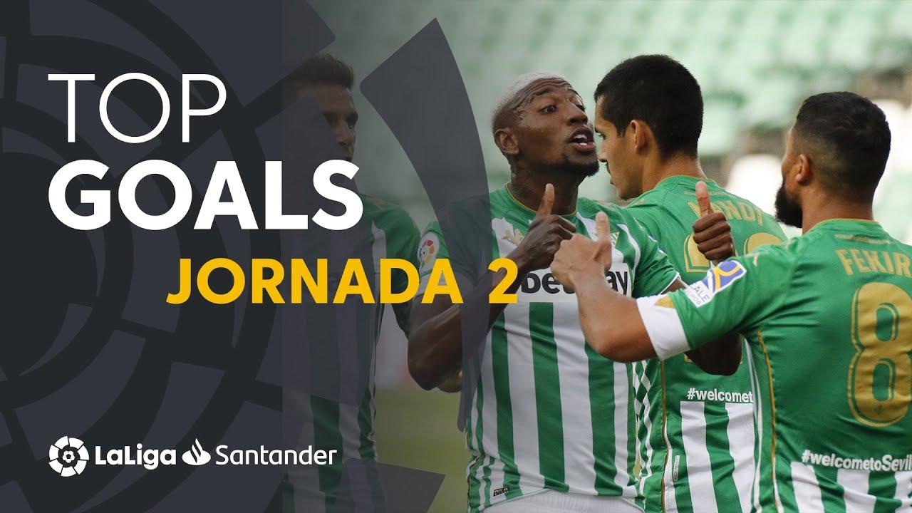 Todos los goles de la Jornada 02 de LaLiga Santander 2020/2021