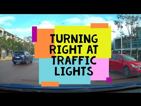 Turning Right At Traffic Lights