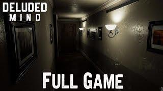 Deluded Mind Full Game & ENDING Playthrough Gameplay (horror Game)