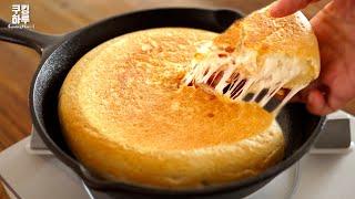 노오븐! 원팬 요리.바삭한 빵 속에 맛있는 감자 피자!…