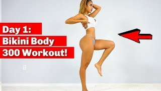 Day 1: Legs, Butt, and Abs Home Workout! 300 Reps!