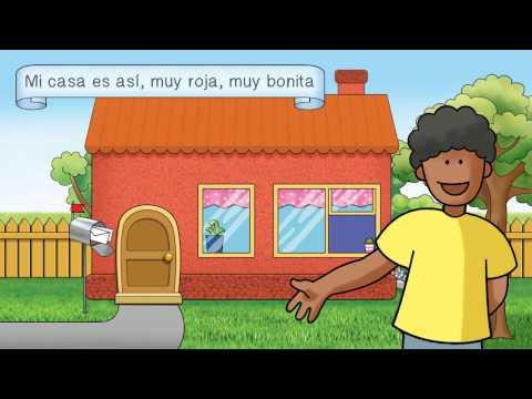 Así me gusta a mí Spanish childrens song for description, activities