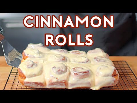 Binging with Babish: Cinnamon Rolls from Jim Gaffigans Stand Up (sort of)