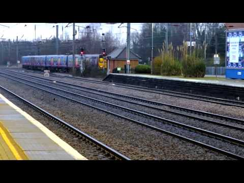 Trains @ Welwyn Garden City, 19/02/2015