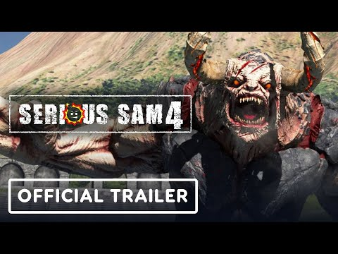 Serious Sam 4 - Official Story Trailer