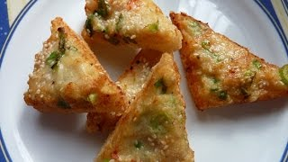 Shrimp Toast  Italian Recipes  EASY TO LEARN  QUICK RECIPES