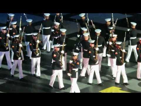 USMC Silent Drill Platoon - Invictus Games 2016 . United States Marine Corps