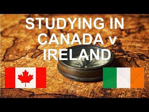 Studying In Canada Vs Ireland - Danish From India