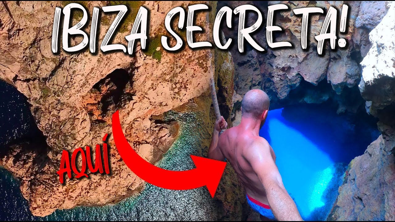 El Lugar Mas Inaccesible De Ibiza La Cueva De La Luz Youtube