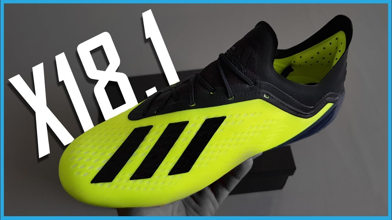 sale retailer 7b82f 7d00e Adidas X18.1 Unboxing and Impressions   Adidas X18.1 Football Boots Unboxing
