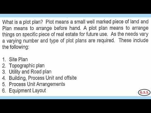 Engineering : How To Prepare Plot Plan, Plant Layout & Equipment Layout