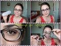 Glamorous Makeup for Glasses