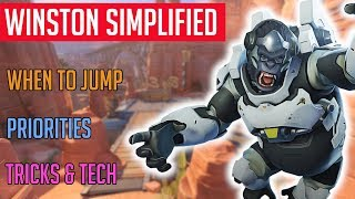 Winston Simplified | Overwatch Hero Guide | No More Monkeying Around