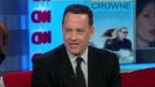 CNN Official Interview: Hanks pokes fun in newsroom, talks movie