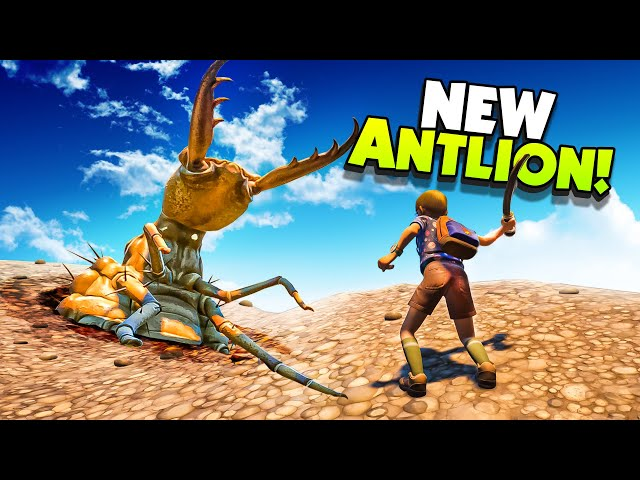 New ANTLION Insect is Unstoppable! - New Grounded Update
