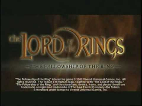 Lord of the Rings - The Fellowship of the Ring game trailer (pc, xbox, ps2)