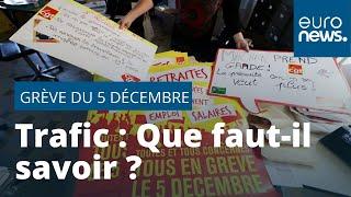 Grève massive le 5 décembre en France : tout ce qui ne va pas marcher !