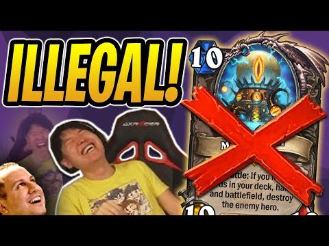 This Deck is ILLEGAL! Mechathun Warlock WITHOUT MECHATHUN?!   Rastakhan's Rumble   Hearthstone