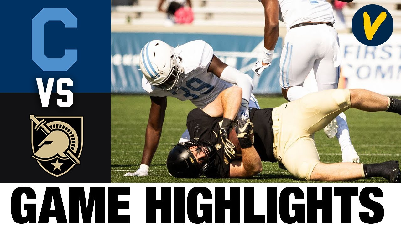 The Citadel vs Army Highlights | Week 6 College Football Highlights | 2020 College Football