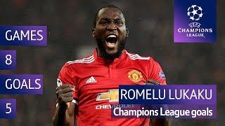 All of Romelu Lukaku's Champions League goals for Man Utd   2017/18