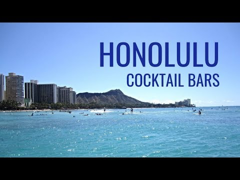 Vlog 1 Honolulu Cocktail Bars