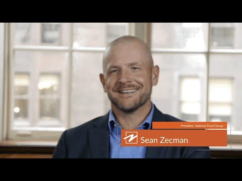Sean Zecman,  President of National Food Group, shares the benefits of partnering with Plante Moran
