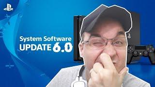PS4 - UPDATE FIRMWARE 6.0 CHEGOU ! ERROS , NOVIDADES, DETALHES !