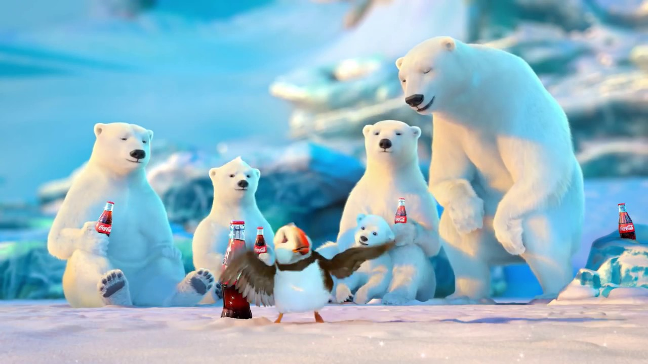 Coca Cola   2013 Holiday Commercial Puffin - YouTube