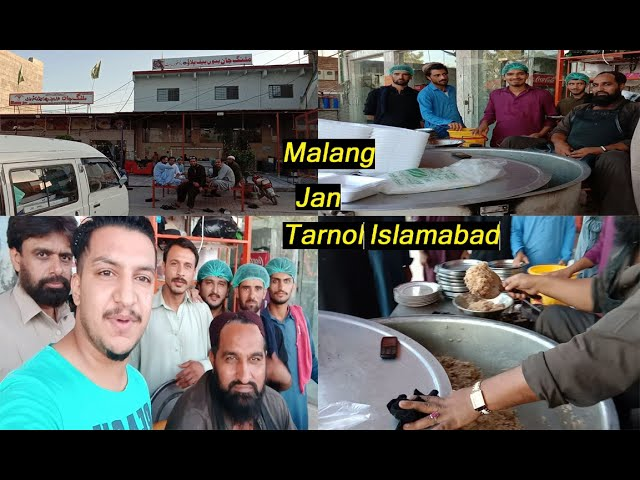 Malang Jan Bannu Beef Pulao Tarnol Islamabad Youtube