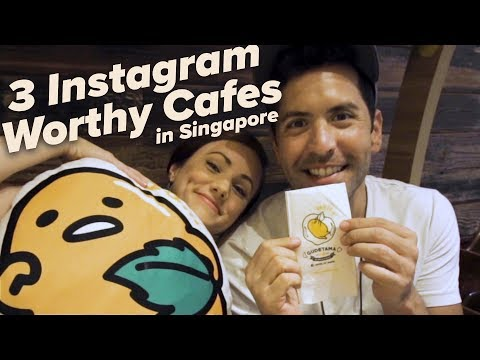 3 INSTAGRAM WORTHY Cafes In SINGAPORE