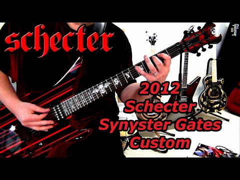Schecter Synyster Gates Custom (SYN Black w/Red Stripes) // January 24, 2013