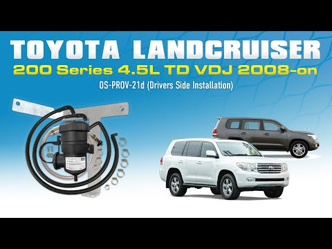 Prov-21 Provent Install Video Toyota Landcruiser 200 Series HDJ